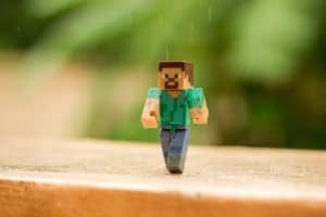 minecraft figurine