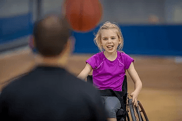 disabled child athlete