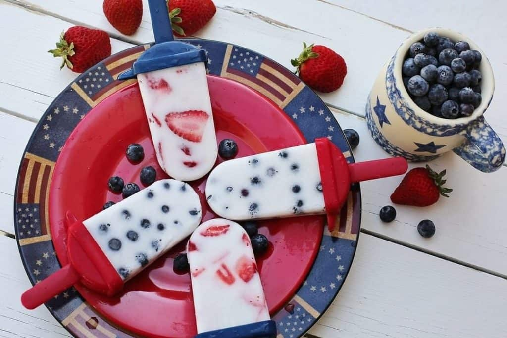 4th of july themes popsicles
