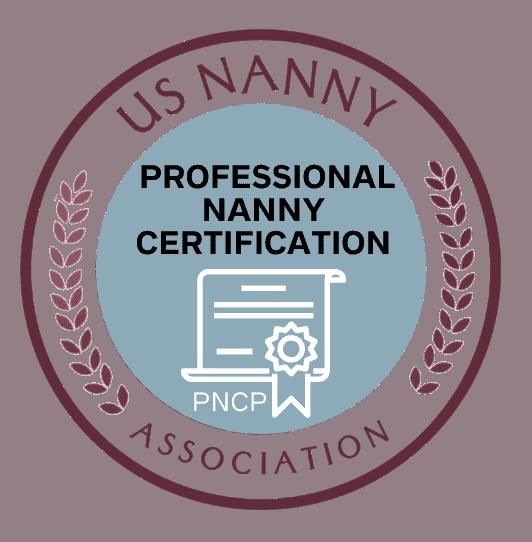 certified professional nanny logo